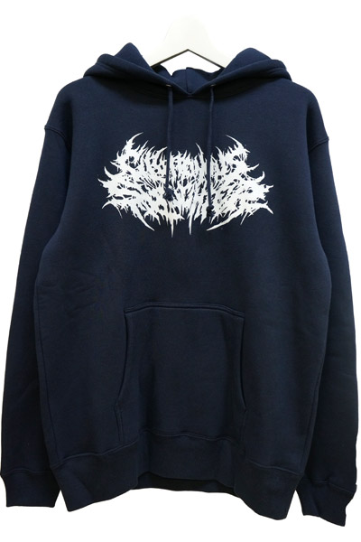 Gluttonous Slaughter (グラトナス・スローター) Gluttonous Slaughter LOGO HOODIE NAVY