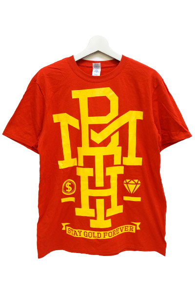 BRING ME THE HORIZON Stay Gold on Red t-shirt