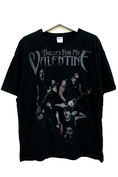 BULLET FOR MY VALENTINE Band Photo 2011 Tour T-shirt