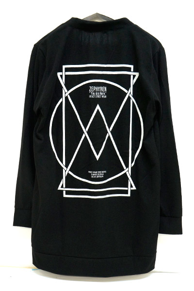 Zephyren (ゼファレン) LONG CARDIGAN BLACK-PORTAL
