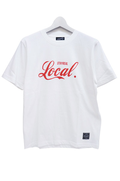 NineMicrophones LOCAL S/S WHITE