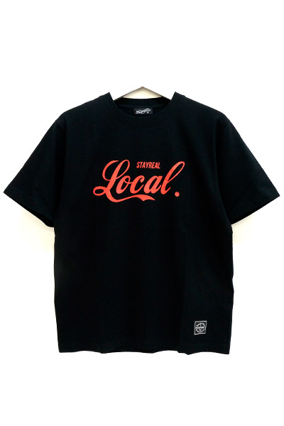 NineMicrophones LOCAL S/S BLACK