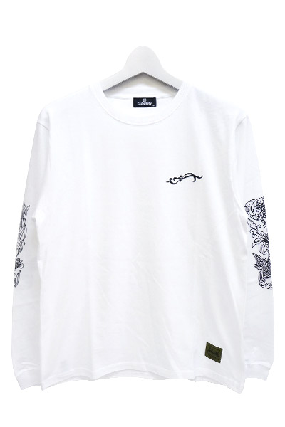Subciety (サブサエティ) lily L/S WHITE