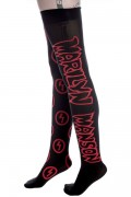 MARILYN MANSON×KILL STAR CLOTHING Number Of The Boss Stockings