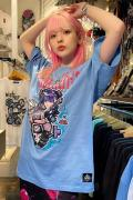 HYPER CORE T-374 Continue? Tシャツ BLUE