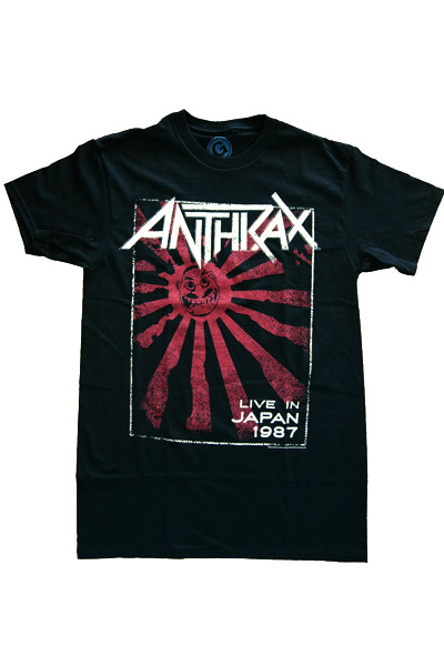 ANTHRAX LIVE IN JAPAN T-Shirts