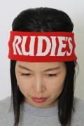 RUDIE'S SLICK HAIRBAND RED