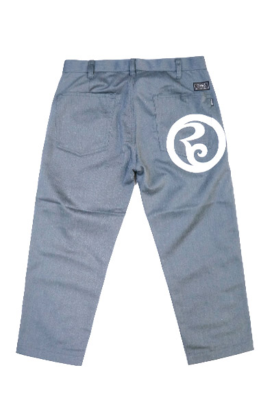 ROLLING CRADLE RC CROPPED PANTS / Gray