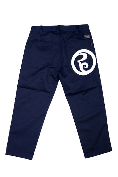ROLLING CRADLE RC CROPPED PANTS / Navy