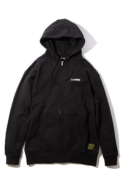 Subciety (サブサエティ) ZIP PARKA-THE BASE- BLACK
