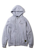 Subciety (サブサエティ) ZIP PARKA-THE BASE- GRAY