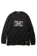 Subciety (サブサエティ) PAISLEY RATIO L/S BLACK