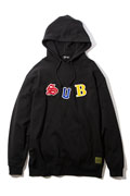 Subciety (サブサエティ) EMBROIDERY PARKA-kid- BLACK