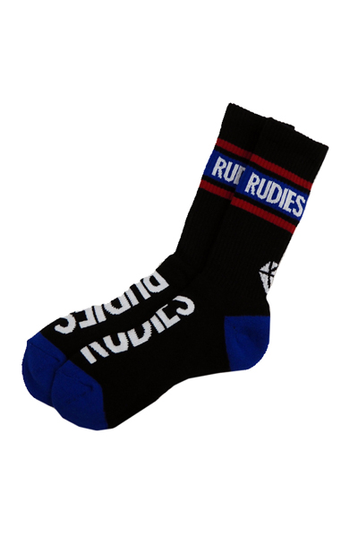 RUDIE'S PHAT SOCKS BLACK