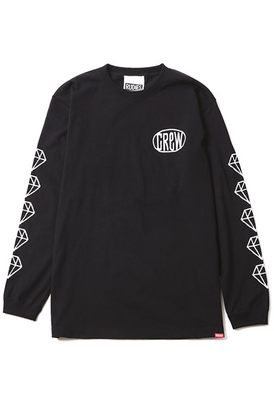 RUDIE'S DRAWING NINEONE LS-T BLACK