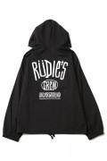 RUDIE'S DRAWING HOOD JACKET BLACK
