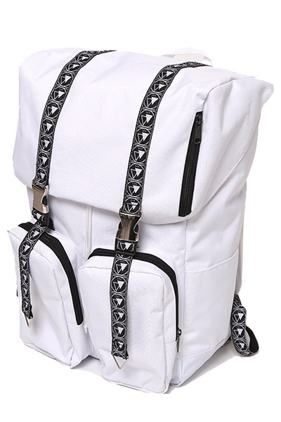 SILLENT FROM ME LISBETH -Flip Day Pack- WHITE
