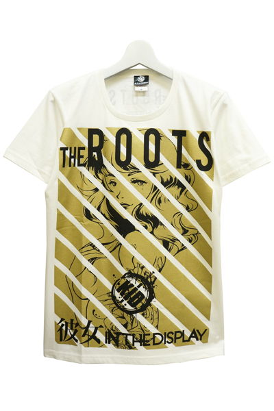 彼女 IN THE DISPLAY THE  ROOTS Tシャツ WHT