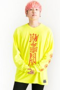 HEDWiNG Chinese Zombie Longsleeve T-shirt Lime