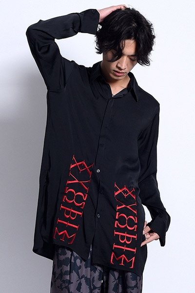PARADOX LONG SHIRTS BLACK