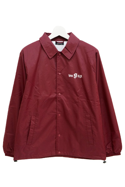 NineMicrophones COACH JACKET-how high- BURGUNDY