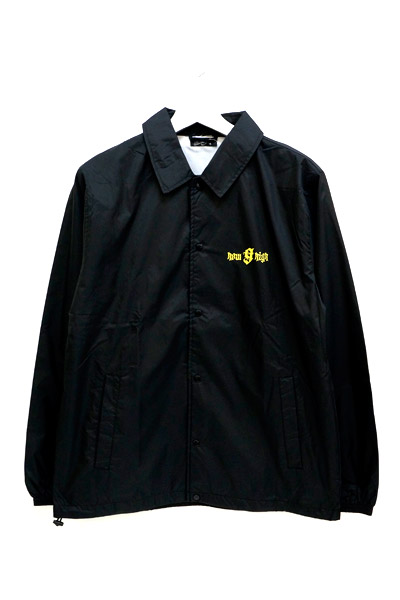 NineMicrophones COACH JACKET-how high- BLACK-YELLOW