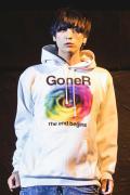 【予約商品】GoneR GR30PK002 Circle Rose Parka White