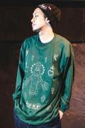【予約商品】GoneR GR30LS001 Tattoo Flash L/S T-Shirts Forest