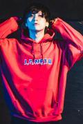 【予約商品】GoneR -La Neta- GRL05PK001New York Logo Parka Red