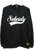 Subciety (サブサエティ) GLORIOUS L/S BLACK-WHITE