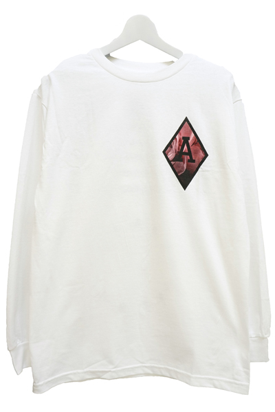 BLACK SCALE BLVCK REBELS Long Sleeve T-Shirts WHITE