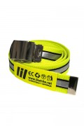 LILWHITE(dot) LW-19AW-A02 REFLECTOR LONG BELT (LIME)