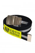 LILWHITE(dot) LW-19AW-A03 REFLECTOR LONG BELT (BLK)