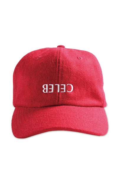 PUNK DRUNKERS 逆セレブCAP RED