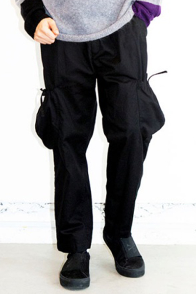 VIRGO VG-PT-318 FAT PETAURISTA PANTS BLACK