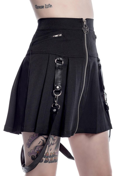 KILL STAR CLOTHING(キルスター・クロージング) BLAIRE B*TCH Mini Skirt [B]