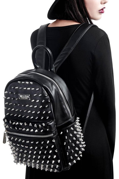 KILL STAR CLOTHING(キルスター・クロージング) Ika Spiked Backpack [B]