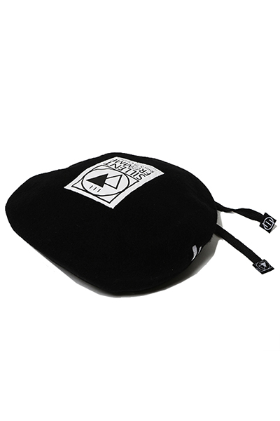 SILLENT FROM ME SIGN -Beret- BLACK/WHITE