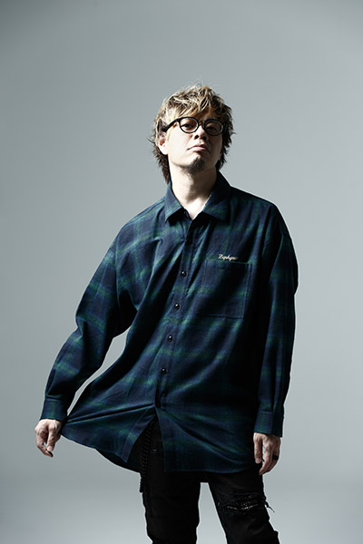 Zephyren (ゼファレン) BIG CHECK SHIRT -Resolve- GREEN