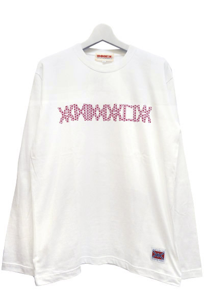 ANIMALIA AN16A-TE07 LOGO Hemp Crest WHITE