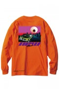 LILWHITE(dot) (リルホワイトドット) LW-4TH-LT01 -NEW HEAVEN- L/S TEE ORANGE