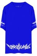 【ゲキクロ限定】UNUSUAL INDIVIDUAL MARCHING T-SHIRT BLUE
