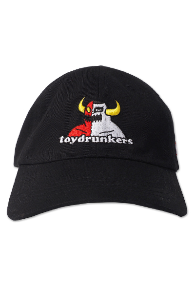PUNK DRUNKERS [PDSxTOY MACHINE]MONSTERxあいつCAP BLACK