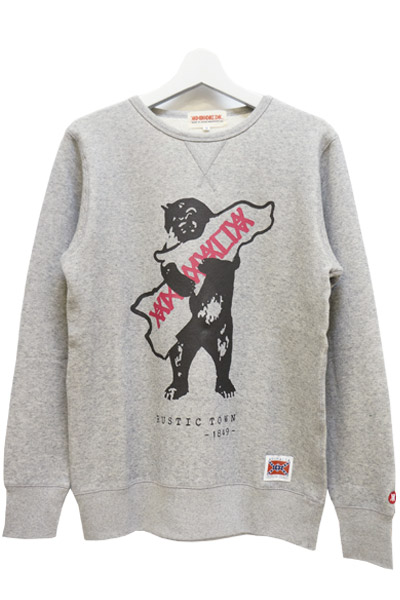 ANIMALIA AN16A-SW05 Rustic Town GRAY