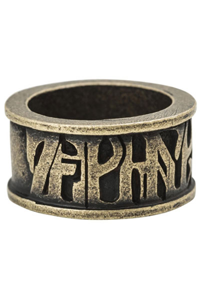Zephyren(ゼファレン)METAL RING -VISIONARY- ANTIQUE.GOLD