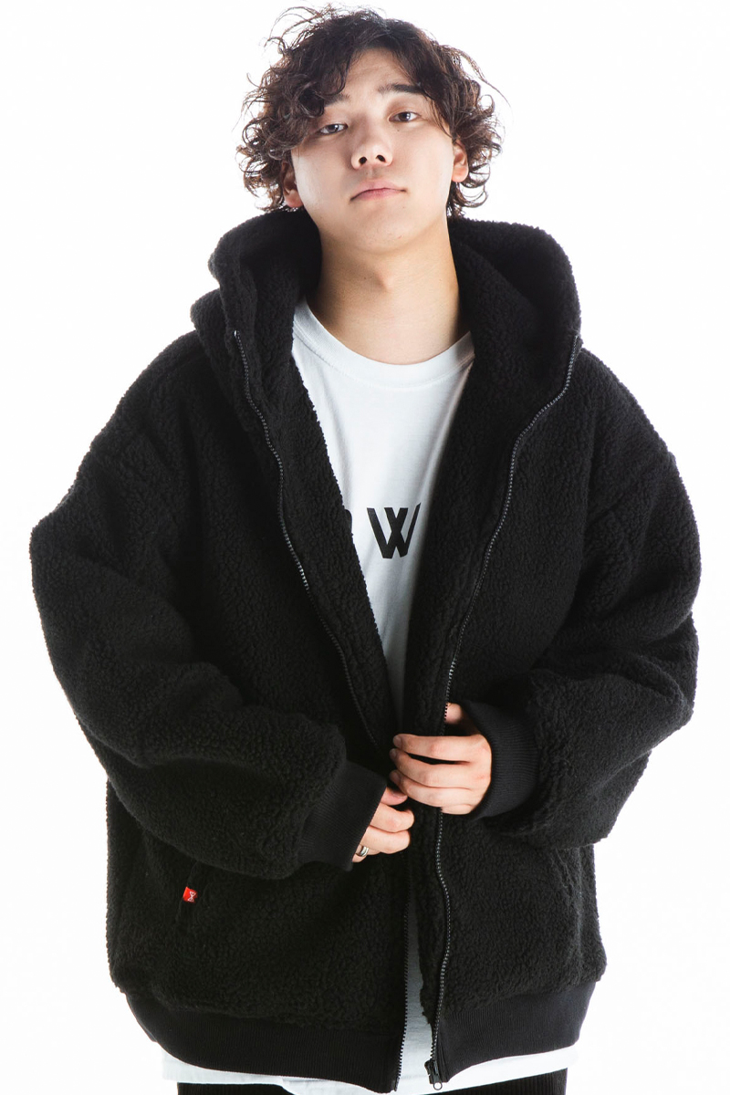 HEDWiNG HD7-010 Big Sheep Bore Hoodie Jacket