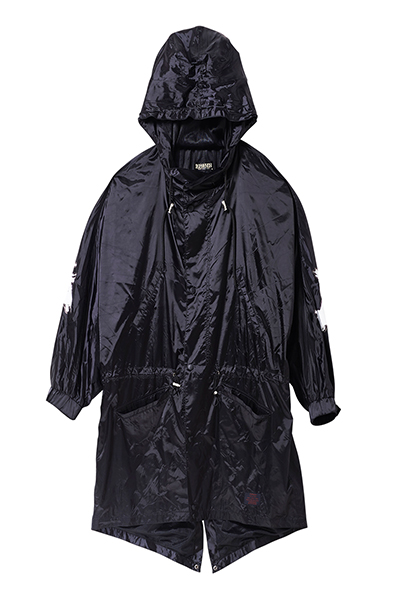 NYLON MODS COAT BLACK Zephyren (ゼファレン)