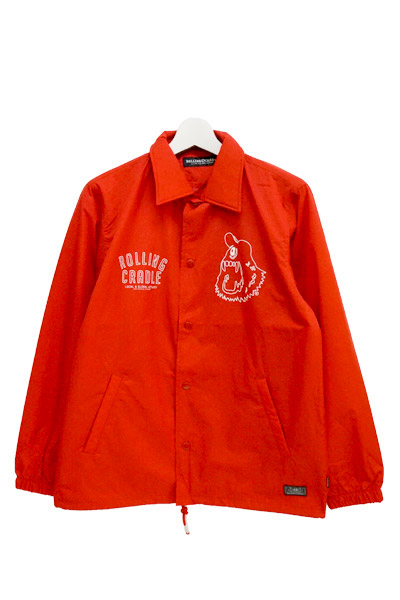 ROLLING CRADLE SHOUT COACH JKT / Red