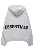 FOG ESSENTIALS Pullover Hoodie LIGHT HEATHER