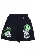 MISHKA DEATH SKULL SHORT BLACK